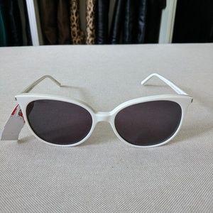 Saint Laurent White Sunglasses SL39 SURF 001